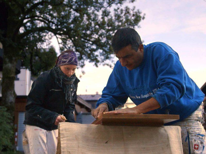 Syrer und Allgäuerin arbeiten zusammen
