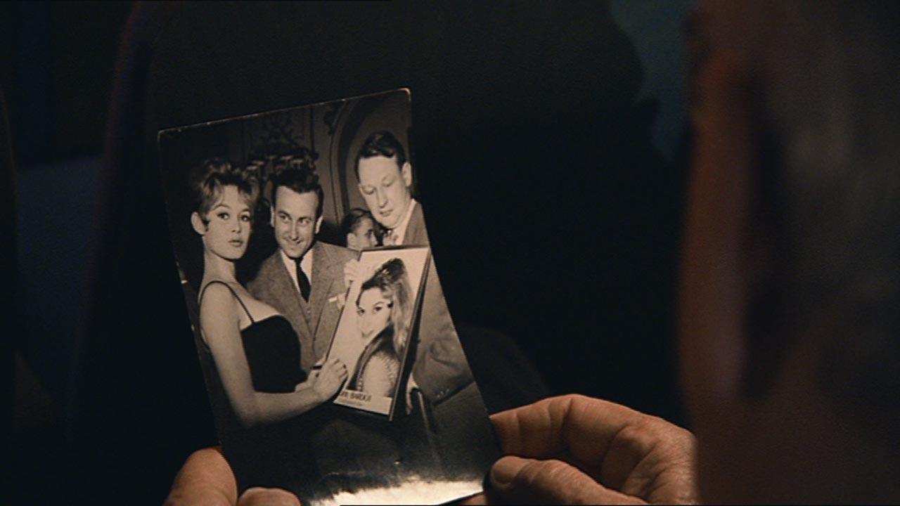 Der Filmschaffende als junger Mann mit Brigitte Bardot