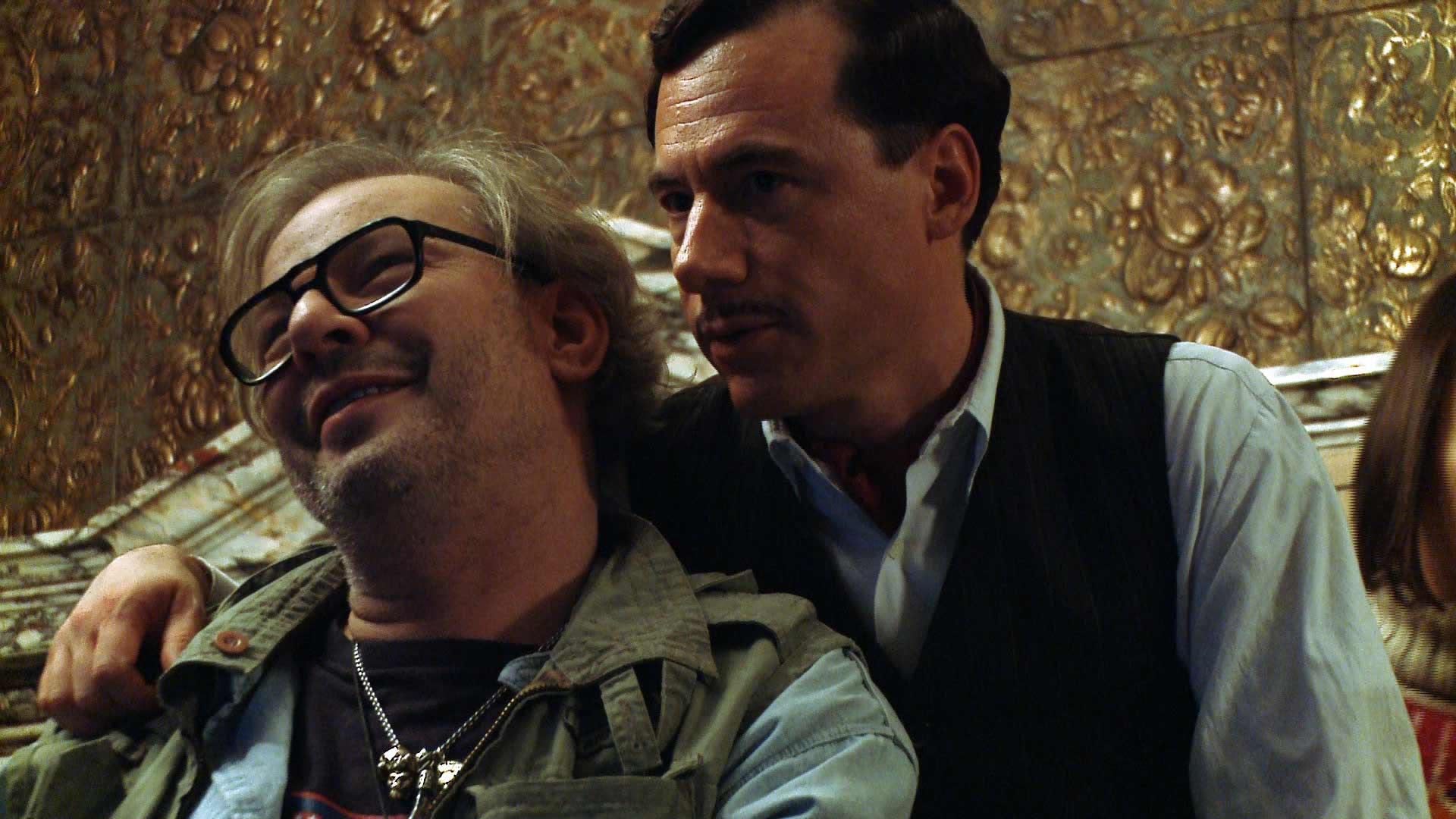 Hotel Lux - Making Of - Michael Bully Herbig umarmt Leander Haußmann