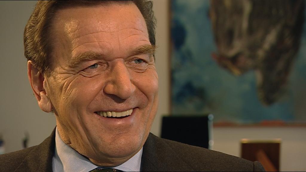 Gerhard Schröder im Interview zur Doku - Die Kanzlermacher